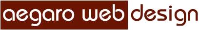 Aegaro Web Design Logo